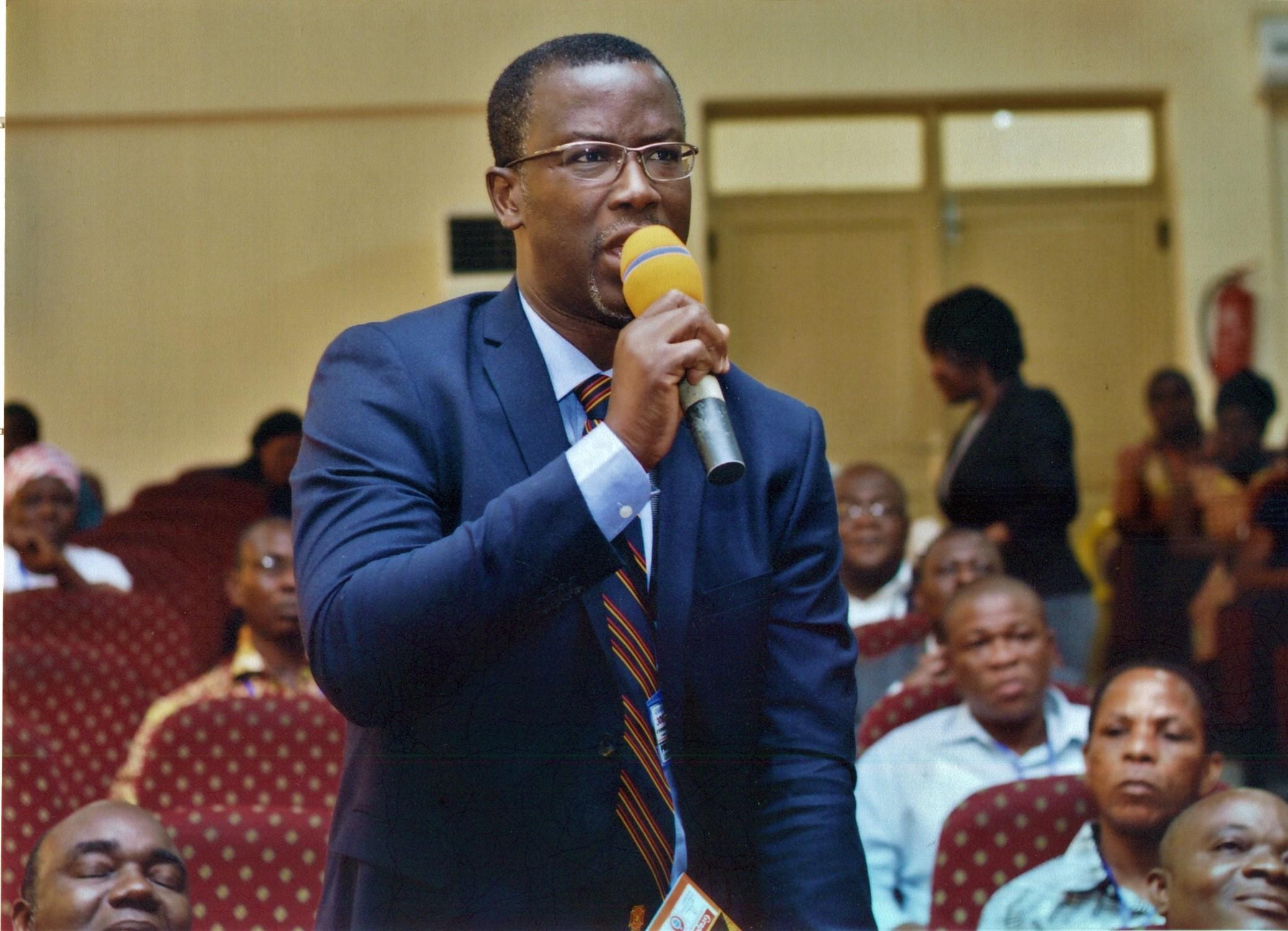 Prof.  Moses Jojo Eghan- Hon. National President