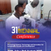 FIRST ANNOUNCEMENT OF THE 31ST BIENNIAL CONFERENCE